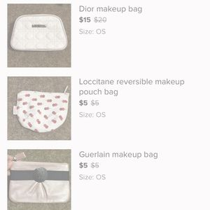 Bundle of 3 bags for Amy